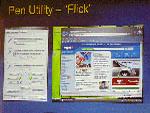 Windows Tablet Edition 2005 Flick (klein)