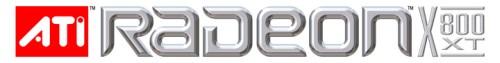 ATi Radeon X800 XT logo (verticaal)