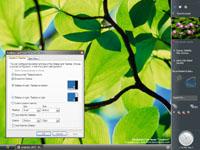 Windows Longhorn build 4074 - Sidebar (klein)