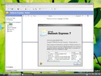 Windows Longhorn build 4074 - Outlook Express 7 (klein)
