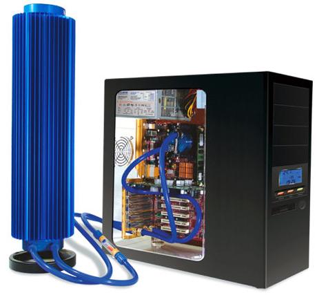 Zalman Reserator 1 koelsysteem aangesloten op pc