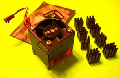 Microcool Northpole Chipset Cooler