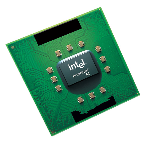Intel Pentium M Dothan processor (groot)