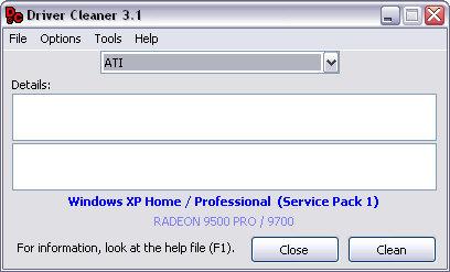 Driver Cleaner 3.1 screenshot