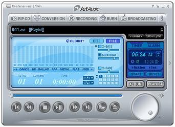 jetAudio 5 screenie