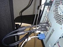 Alienware ALX dual VGA-aansluitingen (verkleind)