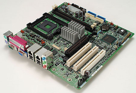 Socket 479 MicroATX-moederbord van PFU