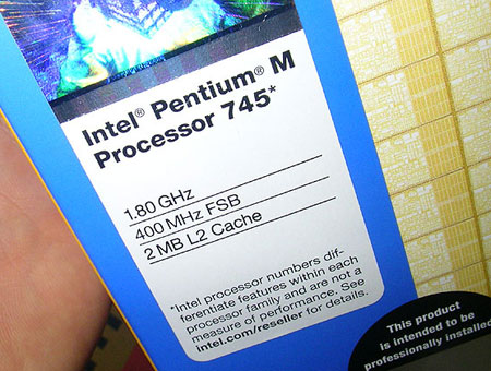 Intel Pentium M 745