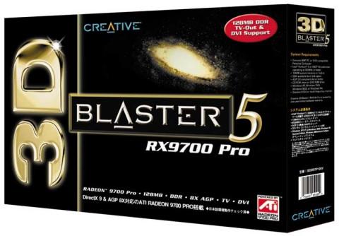 Creative 3D Blaster ATi Radeon 9700 Pro