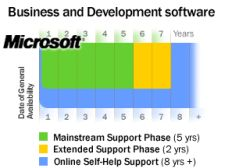 Microsoft Business Support Lifecycle