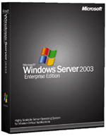 Windows Server 2003 doos