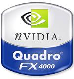Logo nVidia Quadro FX 4000