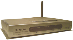 X-Micro WLAN 11g Broadband Router