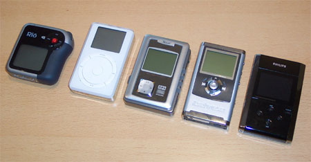 X-Clef HD-800 naast enkele concurrenten
