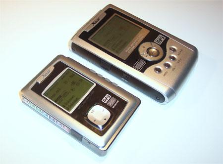 X-Clef HD-800 naast de HD-500 (rechts)