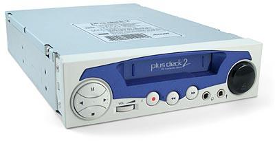 PlusDeck2 cassetterecorder voor in de pc