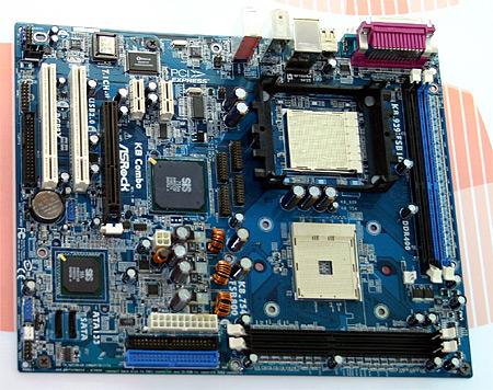 ASRock-moederbord met twee verschillende sockets (LQ)