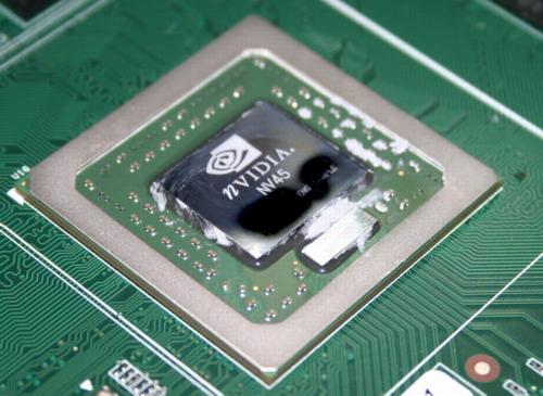 NV45 met AGP-chip (groot)