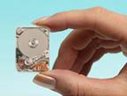 Toshiba mini-harddisk (klein)