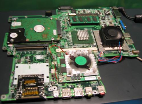 nVidia MXM demo