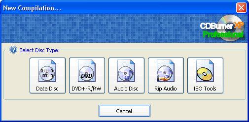 CDBurnerXP Pro 2.2.7 screenshot