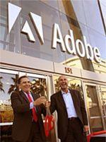Adobe kantoor met directeur