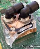Asetek Waterchill GPU-blok gemonteerd (klein)