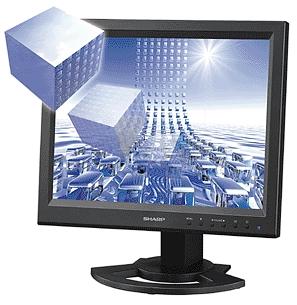 Sharp LL-151D 3d-monitor