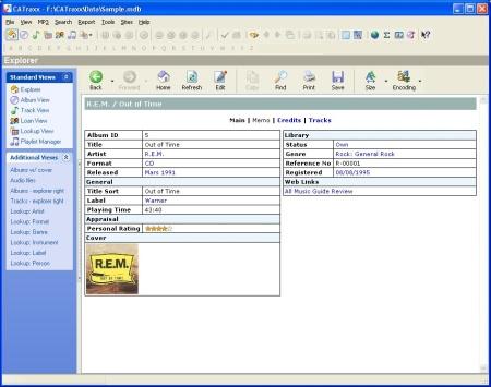 CATraxx screenshot (klein)