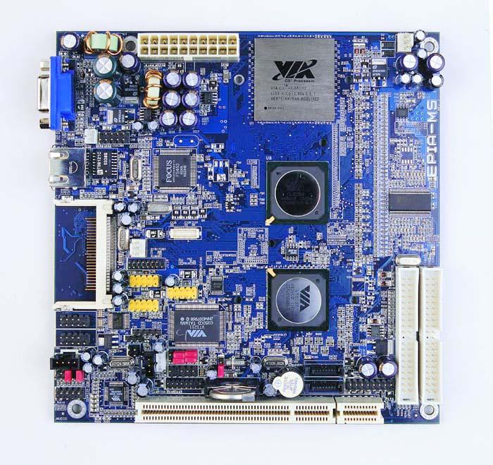 VIA EPIA MS Mini-ITX (groot)
