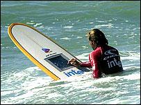 Zijn we aan het surfen of aan het surfen?
