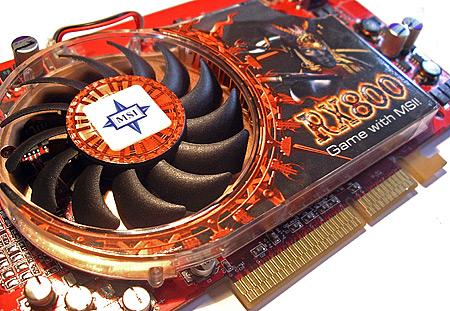 MSI Radeon X800 Pro