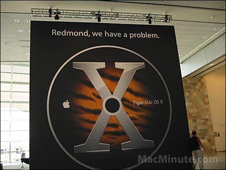 Mac OS X Tiger - reclame