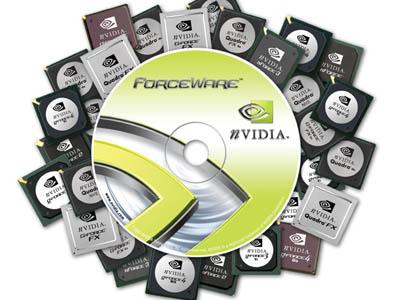 nVidia Forceware-cd met GPU's