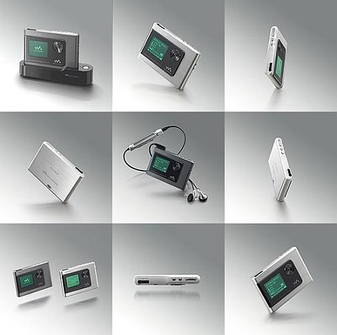 Sony NW-HD1 aanzichten