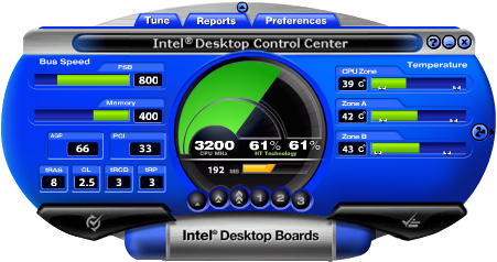 Intel Desktop Control Center