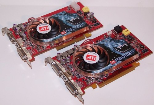 ATi Radeon X800 XT PCI Express en X800 XT Platinum Edition AGP (klein)