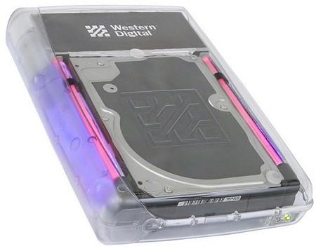 Western Digital WDXC1200JB externe 120GB-hdd (gedraaid)