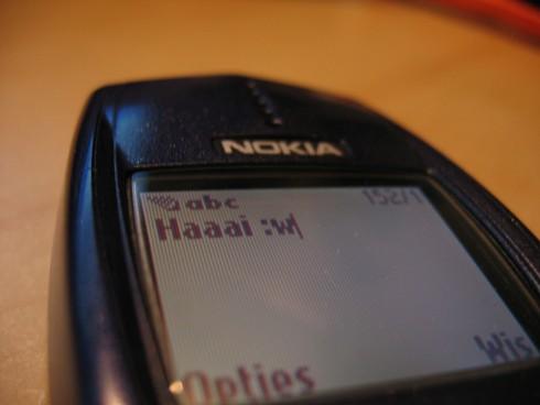 Sms, telefoon, Nokia