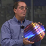 Intel toont 65nm-wafer