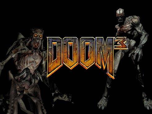 Doom 3 logo / creatures (490px)