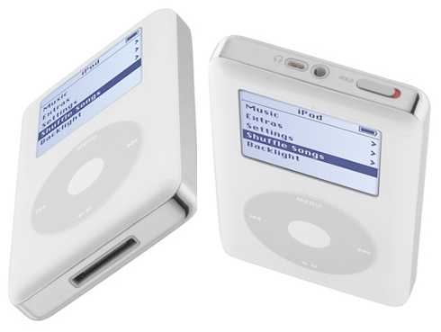 Apple iPod 40GB (QT VR top- & bottomview)