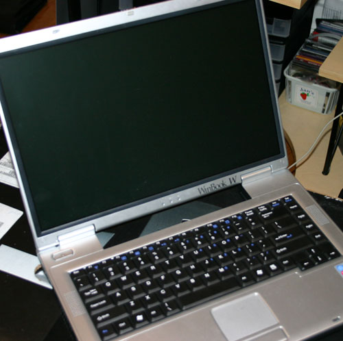 Winbook W360 met Dothan Pentium M-processor