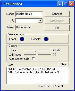 VoIPerized screenshot