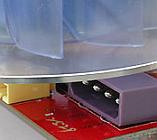 Molex verborgen onder koeler
