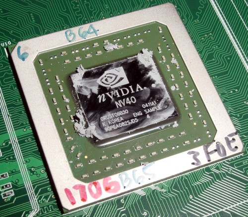 GeForce 6800 LE GPU