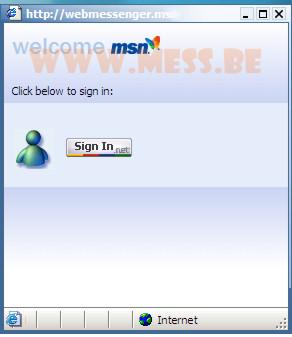 e messenger web: