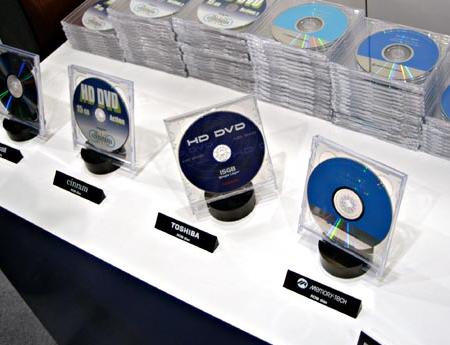 HD DVD's