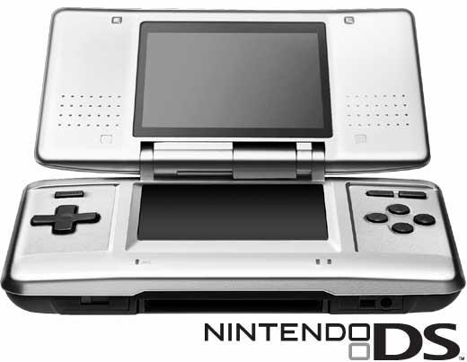 Nintendo DS Opengeklapt