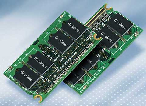 Infineon DDR2 Micro-DIMMs